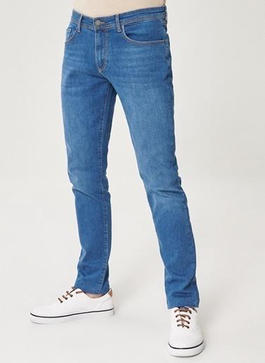 Altınyıldız Classics Ekstra Slim Fit Dar Kesim Denim Esnek Jean Kot Pantolon 4A0121100085 Mavi